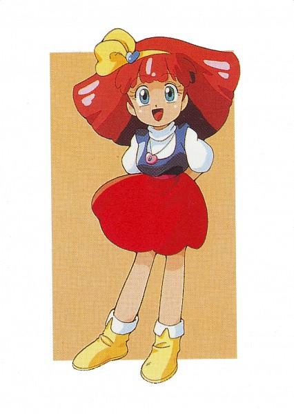 Tags: Anime, Mahou no Princess Minky Momo, Minky Momo, Yellow Footwear, Artist Request