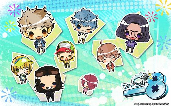 Tags: Anime, Guli, Rejet, Otomate, IDEA FACTORY, Minus Eight, Saeki Ikusa, Tonami Otohiko, Nanjoe Keima, Kuramochi Aoba, Utano Jun, Kazahara Maya, Itsuki Mario