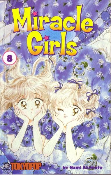 Tags: Anime, Akimoto Nami, TOKYOPOP, Miracle Girls, Matsunaga Mikage, Matsunaga Tomomi, Official Art, Self Scanned, Manga Cover, Scan