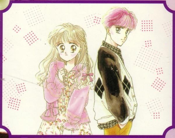 Tags: Anime, Akimoto Nami, Miracle Girls, Kurashige Hideaki, Matsunaga Tomomi, Side by Side, Self Scanned, Official Art