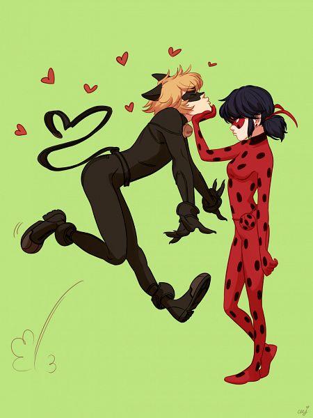 Tags: Anime, Ceejles, Miraculous Ladybug, Marinette Dupain-Cheng, Ladybug (Character), Adrien Agreste, Chat Noir (Ladybug), Fanart