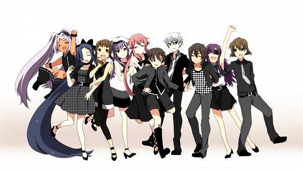 Tags: Anime, Nishinomiya Saku, Mirai Nikki, Hino Hinata, Nishijima Masumi, Akise Aru, Muru Muru, Kasugano Tsubaki, Amano Yukiteru, Kousaka Ouji, Gasai Yuno, Nonosaka Mao, Uryuu Minene, Future Diary