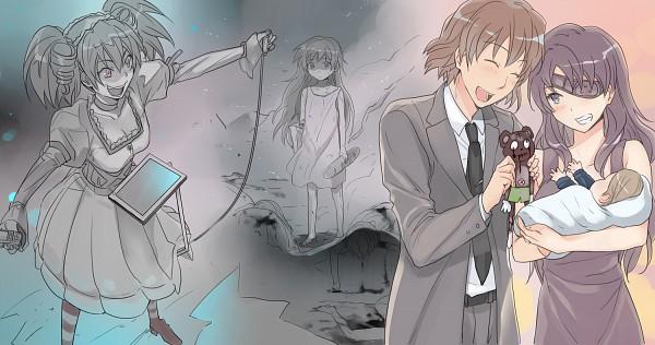 Tags: Anime, 3u, Uryuu Minene, Nishijima Masumi, Facebook Cover, Future Diary