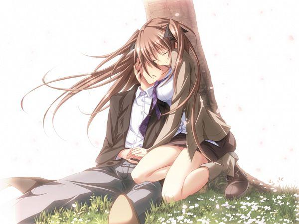 Tags: Anime, Purple Software, Mirai Nostalgia, Anna (Mirai Nostalgia), CG Art