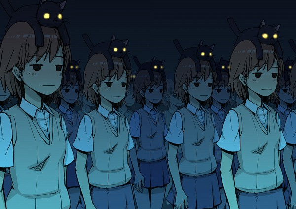Tags: Anime, Nekomasu, To Aru Majutsu no Index, Misaka Imouto