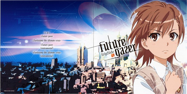 Tags: Anime, J.C.STAFF, To Aru Majutsu no Index, To Aru Kagaku no Railgun, Misaka Mikoto, Wallpaper, Official Art, CD (Source), Scan