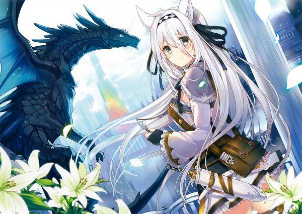 Tags: Anime, Mishima Kurone, Eshi 100-nin Ten 06, Original, Scan