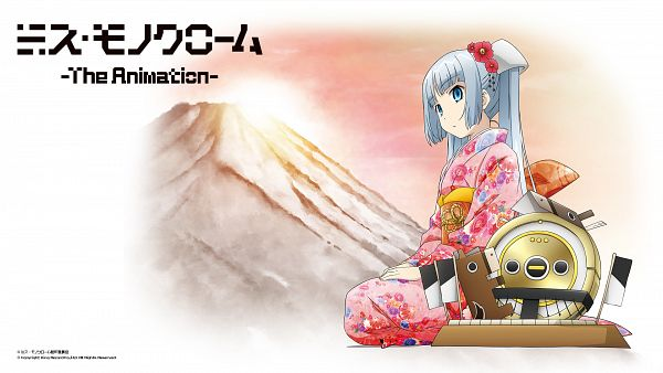 Tags: Anime, Miss Monochrome, Miss Monochrome (Character), Ruu-chan, Vacuum, Wallpaper, HD Wallpaper, Official Art, Official Wallpaper, Happy 2014