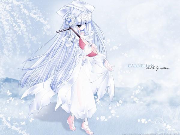 Tags: Anime, CARNELIAN, Moldavite, Mistrel (Moldavite), Lute, Original, Fanmade Wallpaper, Wallpaper, Edited