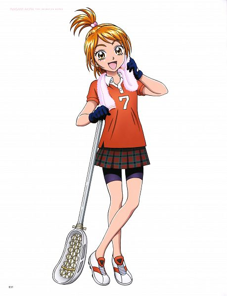 Tags: Anime, Inagami Akira, Toei Animation, Futari wa Precure, Inagami Akira Toei Animation Works, Misumi Nagisa, Official Art, Scan, Natalie Blackstone
