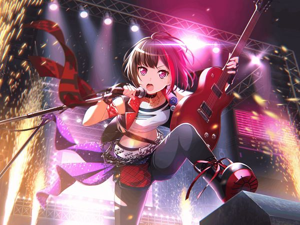 Tags: Anime, Craft Egg, BanG Dream! Girls Band Party!, Mitake Ran, PNG Conversion, Official Art, Official Card Illustration