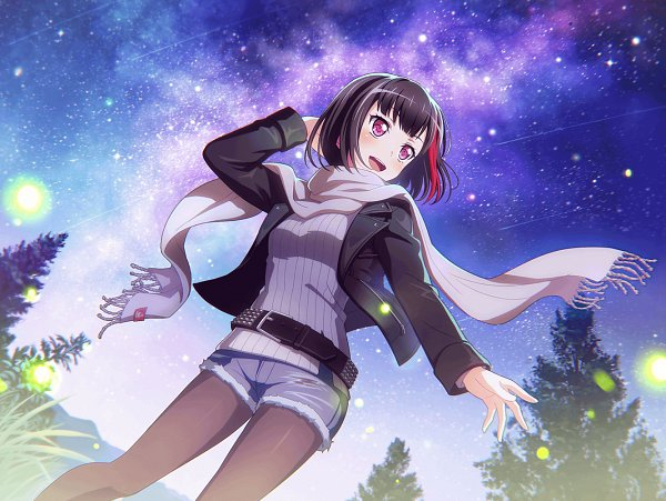 Tags: Anime, Craft Egg, BanG Dream! Girls Band Party!, Mitake Ran, Official Card Illustration, Official Art, Official Wallpaper, Wallpaper