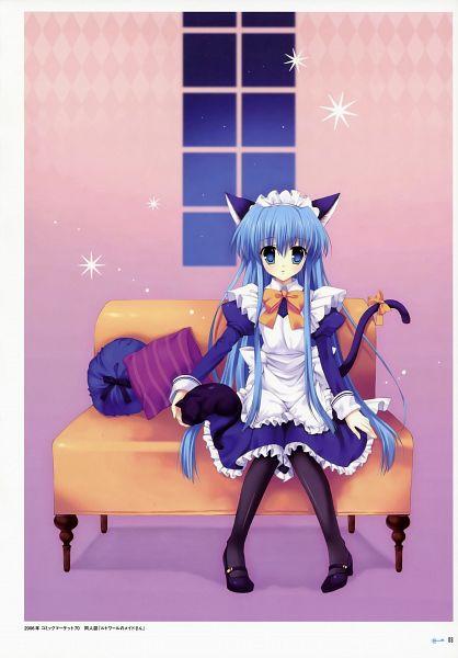 Tags: Anime, Mitha, Seiran-iro no Kagi, Pixiv, Character Request
