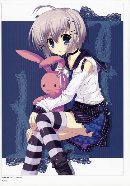 Tags: Anime, Mitha, Seiran-iro no Kagi, Pixiv