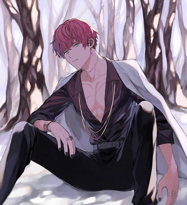 Tags: Anime, Pixiv Id 56397033, Mahoutsukai no Yakusoku, Mithra (Mahoutsukai no Yakusoku), White Coat, Pixiv, Fanart, Fanart From Pixiv