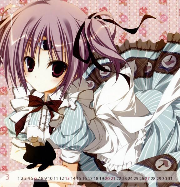 Tags: Anime, Inugami Kira, 13 (Series), 2011 Mini Calender, Mitsuki (13), Calendar 2011, Pixiv