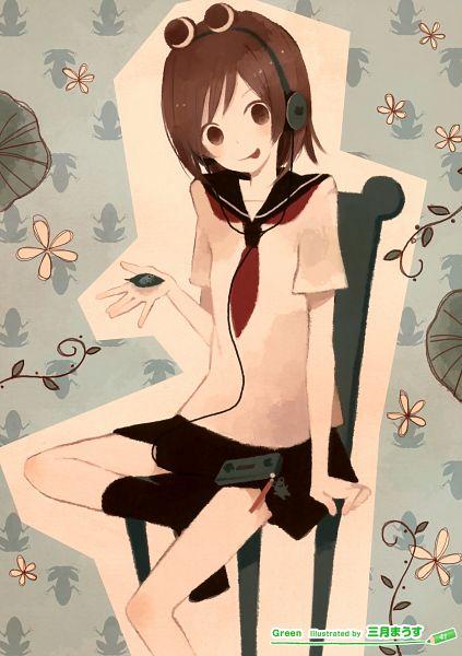 Tags: Anime, Mitsuki Mouse, Girls Girls Girls! 8 -Colorful Girls-, Pixiv, Scan
