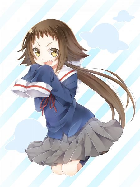 Tags: Anime, Shinya (Soramame), Mikakunin de Shinkoukei, Mitsumine Mashiro