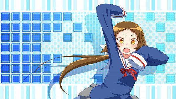 Tags: Anime, Pixiv Id 2654342, Mikakunin de Shinkoukei, Mitsumine Mashiro, Wallpaper, HD Wallpaper
