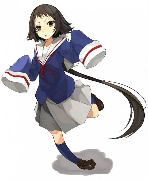 Tags: Anime, Miruto Netsuki, Mikakunin de Shinkoukei, Mitsumine Mashiro, Fanart From Pixiv, PNG Conversion, Pixiv, Fanart