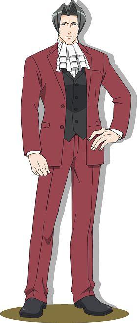 Mitsurugi Reiji (Miles Edgeworth) - Gyakuten Saiban