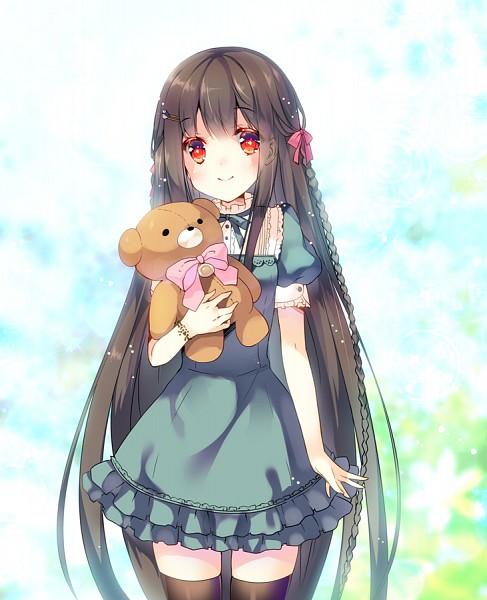 Tags: Anime, Miwabe Sakura, PNG Conversion, Pixiv, Original