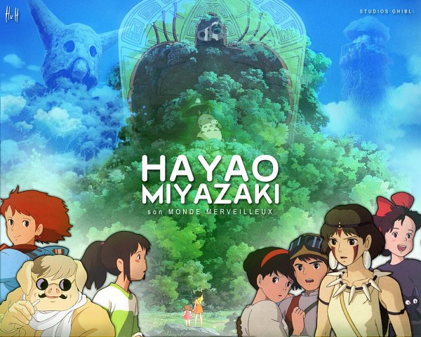 Miyazaki Hayao (Hayao Miyazaki ) - Studio Ghibli