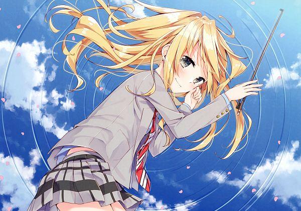 Tags: Anime, Sakuragi Ren, Shigatsu wa Kimi no Uso, Not Equal Pink 2, Miyazono Kaori, Comic Market, Comic Market 90, Scan