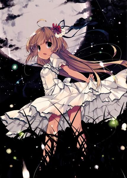 Tags: Anime, Mizu (Nonbiri), Himekuri 365 - 2017 Edition, Fireflies, Scan, Original