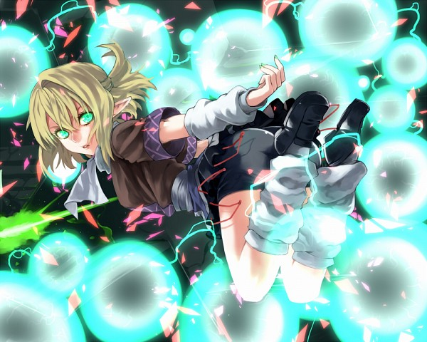 Tags: Anime, Hinomoto Madoka, Touhou, Mizuhashi Parsee, Fanart, Fanart From Pixiv, Pixiv, Parsee Mizuhashi
