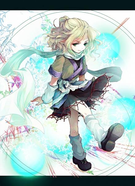 Tags: Anime, Awa Toka, Touhou, Mizuhashi Parsee, Loose Footwear, Pixiv, Mobile Wallpaper, Fanart From Pixiv, Fanart, Parsee Mizuhashi