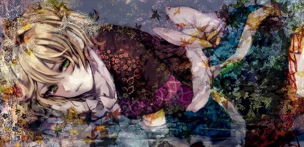 Tags: Anime, Minase Mmakina, Touhou, Mizuhashi Parsee, Facebook Cover, Parsee Mizuhashi