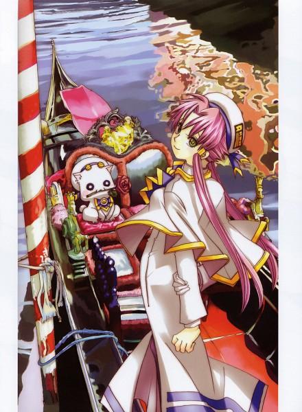Tags: Anime, ARIA (Series), Aria Pokoteng, Mizunashi Akari, Gondola, Venice, Undine (ARIA)
