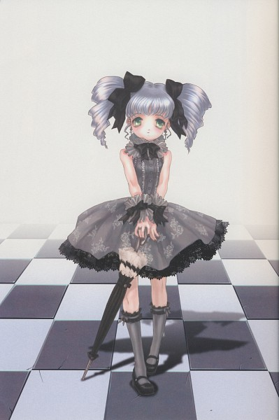 Tags: Anime, Mizusawa Hikaru, Closed Umbrella, Pixiv