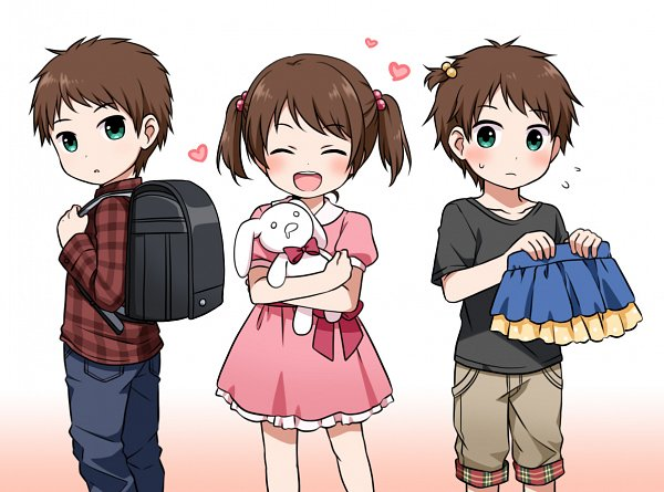 Tags: Anime, Ringo Yuyu, THE iDOLM@STER: SideM, Mizushima Saki, Randoseru, Fanart From Pixiv, Pixiv, Fanart