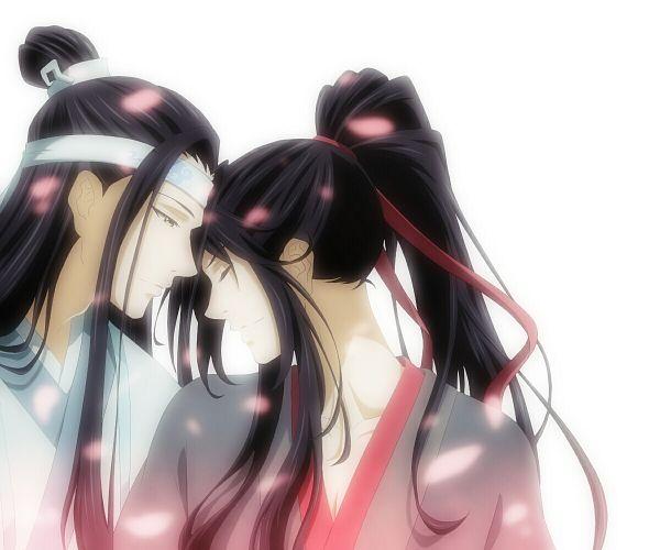 Tags: Anime, Pixiv Id 8885555, Mo Dao Zu Shi, Wei WuXian, Lan WangJi, Forehead Ribbon