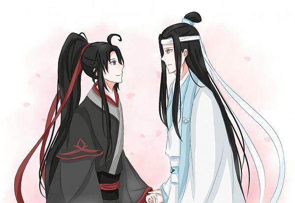 Tags: Anime, Pixiv Id 23278017, Mo Dao Zu Shi, Lan WangJi, Wei WuXian, Light And Dark, Forehead Ribbon, The Grandmaster Of Demonic Cultivation