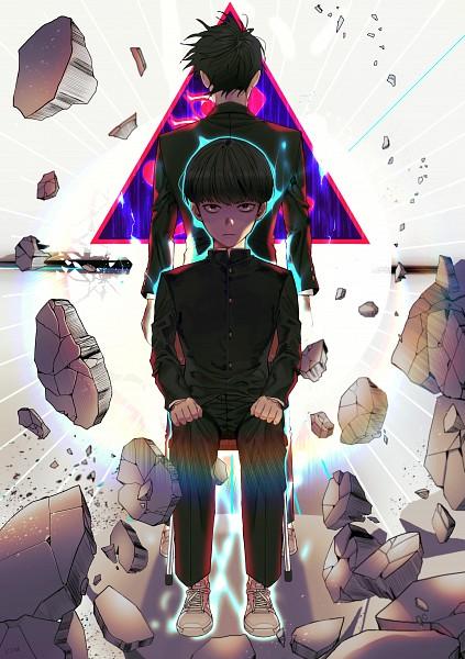 Tags: Anime, KOM-X, Mob Psycho 100, Ekubo, Kageyama Shigeo, Rumbles, Mobile Wallpaper, Pixiv, Fanart
