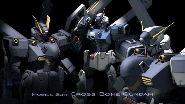 Tags: Anime, Kaiware Daikon, Mobile Suit Crossbone Gundam, Crossbone Gundam X-3, Crossbone Gundan X-2, Crossbone Gundam X-1, Looking Down In Circle