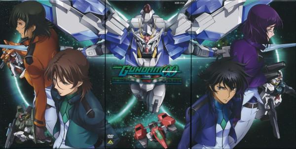 Tags: Anime, Mobile Suit Gundam 00, Setsuna F. Seiei, Lyle Dylandy, Lockon Stratos, Allelujah Haptism, Tieria Erde, Celestial Being's Uniform, Wallpaper, Gundams, Gundam Meisters