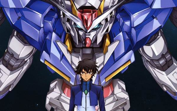 Tags: Anime, Mobile Suit Gundam 00, Setsuna F. Seiei, Wallpaper, Gundam Meisters
