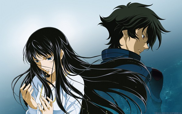 Tags: Anime, Mobile Suit Gundam 00, Marina Ismail, Setsuna F. Seiei, Wallpaper, Gundam Meisters