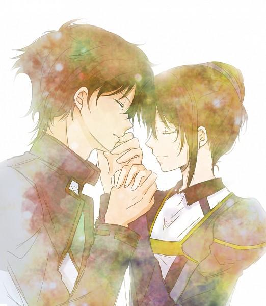 Tags: Anime, Izumi Ren, Mobile Suit Gundam 00, Setsuna F. Seiei, Marina Ismail, Gundam Meisters