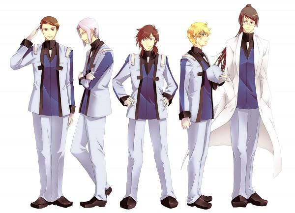 Tags: Anime, Mobile Suit Gundam 00, Patrick Colasour, Billy Katagiri, Sherman Descartes, Graham Aker, Andrei Smirnov, Pixiv