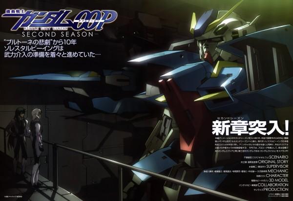 Tags: Anime, Mobile Suit Gundam 00P, Hixar Fermi, Gundams