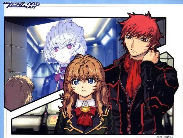Tags: Anime, Mobile Suit Gundam 00P, Ruido Resonance, Chall Acustica