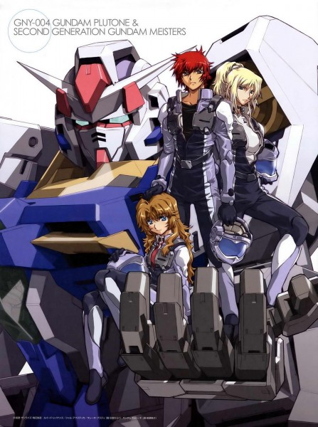 Tags: Anime, Mobile Suit Gundam 00P, Ruido Resonance, Chall Acustica, Gundam Meisters