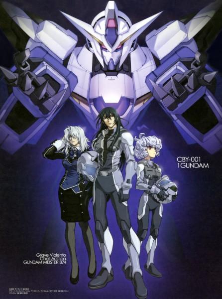 Tags: Anime, Mobile Suit Gundam 00P, Grave Violento, Chall Acustica