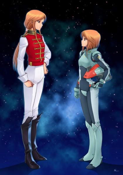 Tags: Anime, Mobile Suit Gundam, Marida Cruz