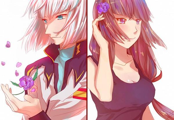 Tags: Anime, Pixiv Id 2672156, Mobile Suit Gundam SEED, Mobile Suit Gundam SEED Destiny, Yzak Joule, Shiho Hahnenfub, Housenka